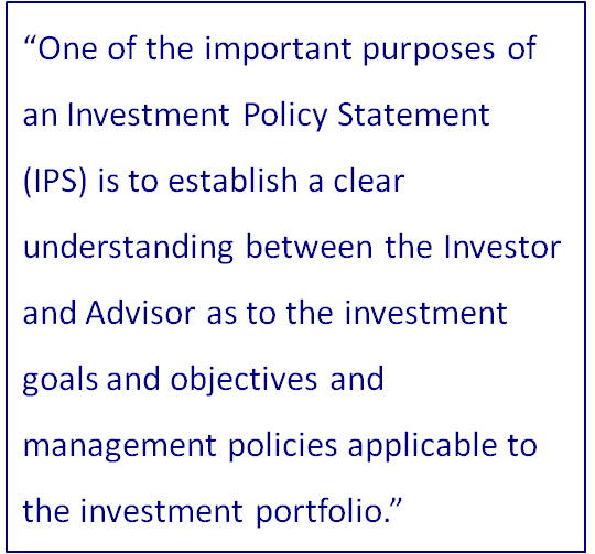 Investment Policy Statement - OmniStar Financial Group